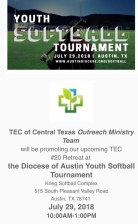 TEC Outreach Softball 0718